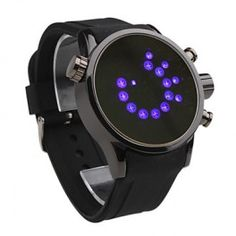Modern Women Men Unisex Fashion Style LED Wrist Watch - Black    Gender: Men's, Women's   Movement: LED   Display: Digital   Style: Wrist Watch   Type: Fashion   Band Material: Rubber   Band Color: Black   Case Diameter Approx (cm): 4.6   Case Thickness Approx (cm): 1.1   Band Length Approx (cm): 25.5   Band Width Approx (cm): 2.4    Time delivery 7-14 days
