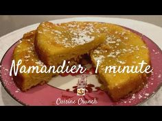3 - LE NAMANDIER 1 MINUTE - YouTube Almond Recipes, Baking Recipes, Dessert Recipes, Pie Crumble, Crunch, Meringue Pie, Arabic Food, Coco, Tapas