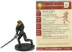 TrollandToad offers a large selection of DnD Minis Singles at Great Prices. View Kalashtar Bodyguard #09 Night Below D&D Miniatures DDM and other Night Below (D&D) items at TrollandToad.com.