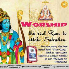 Worship the real Ram to attain Salvation. Ram Navmi greetings and quotes in Marathi. Ram Navmi, Happy Ram Navami, Ram Image, Durga Images, Shri Guru Granth Sahib, Spiritual Quotes, Hinduism Quotes, Birthday Posts, Wish Quotes
