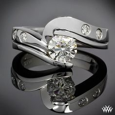 Tension Engagement Ring Setting