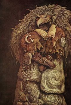 Brian Froud; Troll Witch III