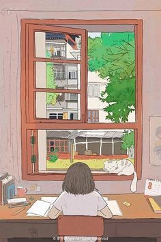 Most Easy Simple Anime Wallpaper IPhone Anime Scenery Wallpaper, K Wallpaper, Aesthetic Pastel Wallpaper, Kawaii Wallpaper, Art Anime Fille, Anime Art Girl, Aesthetic Anime, Aesthetic Art, Arte Do Kawaii