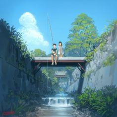 Animes art