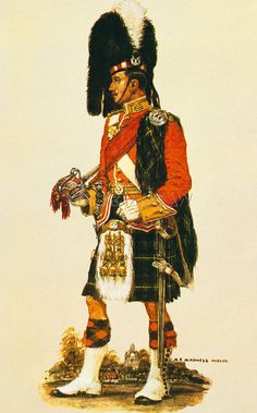 The Gordon Highlanders Art Print by A.E. Haswell Miller at King & McGaw