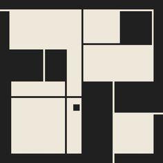De Stijl / Bauhaus series 1 Art Print by Jamie Harrington | Society6