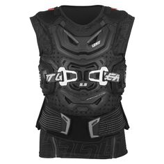 Leatt Chest Protector 5.5 Body Vest - Black