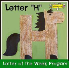 Letter H Of The Week Program