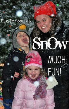 A round up of PlayDrMom's snow posts ... tons of activities that have to do with SNOW! Snow much fun!