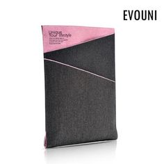 Evouni Twilled Denim Case Pouch for New iPad / iPad 2 - Pink New Ipad, Pouch, Cards Against Humanity, Denim, Bag, Pink, Sachets, Porch, Pink Hair