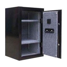 Executive Gun Safe w Digital Lock in Black - 3.5 cu. ft.