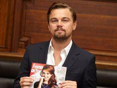 Notre interview de Leonardo DiCaprio ( Femme Actuelle ).