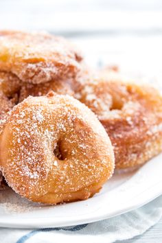 Apple Fritter Rings | savorynothings.com