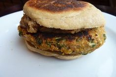 Spicy Autumn Vegetable Burger recipe - Dinner #freezercooking #vegan #vegetarian