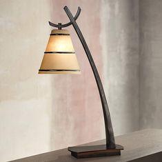 Kenroy Wright Bronze Finish Slanted Desk Lamp - #K8453 | Lamps Plus