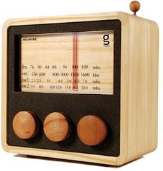 Broadcast & Podcast Gadgets 2012: Wooden Radios