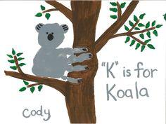 Handprint Koala