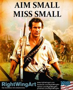 The time has come: aim small, miss small...