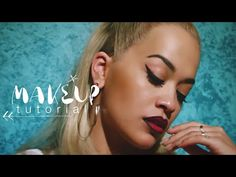 I love Rita Ora and her makeup in this video is amazing! Those lips!!