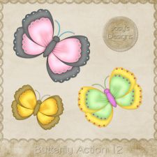 Butterfly Action 12 by Josy #CUdigitals cudigitals.com cu commercial digital scrap #digiscrap scrapbook graphics