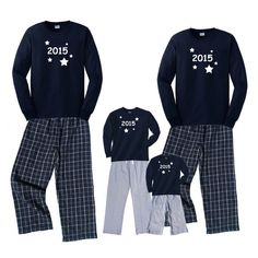 "new years eve pajamas. Have a ""ugly pj"" party on new years. Matching Family Pajamas, Matching Christmas Pajamas, Matching Family Outfits, Holiday Pajamas, Family Christmas Pajamas, Family Pjs, Christmas Eve, New Years Eve Traditions, New Years Eve Day"