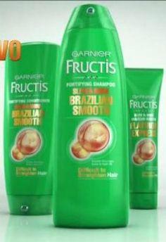 Garnier Fructis Haircare: Free Brazilian Smooth Sample - http://gimmiefreebies.com/garnier-fructis-haircare-free/