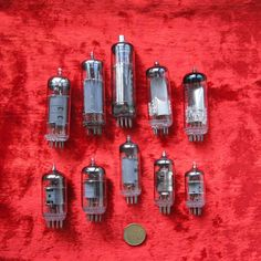 Set of 10 vacuum tubes which were used in soviet TV sets. You can use them in your handmade projects. We don't test tubes and we sell them in a not