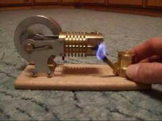 meu prototipo de motor para gerar eletricidade de fornos a lenha em para...