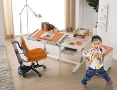 King of Children- Comf-pro Ergonomic Desk Kid Desk, Drafting Desk, Office Desk, Corner Desk, Children, Kids, Desks, Furniture, Home Decor