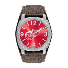 Detroit Red Wings Mens Quartz Analog Defender Watch
