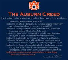 The Auburn Creed