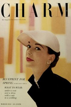 Vintage fashion magazine covers: Cipe Pineles | Adarve Photocollage
