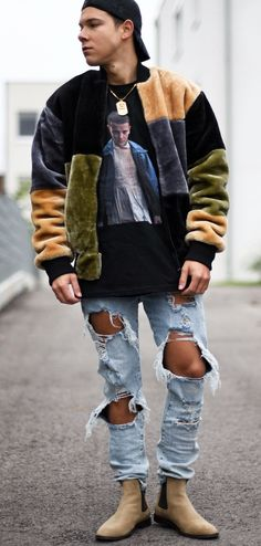 Playing with Textures - Ripped Denim