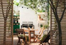 Ιδέες για ολοκληρωμένο εξωτερικό χώρο από τα ΙΚΕΑ! Outdoor Chairs, Outdoor Furniture Sets, Outdoor Decor, Ikea, Home Decor, Decoration Home, Ikea Co, Room Decor, Garden Chairs