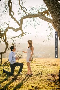 surprise wedding proposal   CHECK OUT MORE IDEAS AT WEDDINGPINS.NET   #weddings #engagements #inspirational
