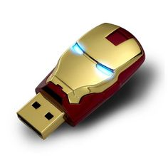 Marvel Avengers USB Stick The Iron Man flash drive is built tough (duh) like a flash drive should be. The other three models, instead of having sturdy shielded connectors, have only the flip out wafer