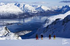 The Lyngen Alps - Norway World Most Beautiful Place, Wonderful Places, Land Of Midnight Sun, Alpine Adventure, Ski Touring, Tromso, Arctic Circle, Work Travel, Places Around The World