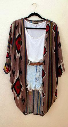 Stylish Cardigan short Jean