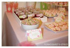 Ballerina Birthday Party Treats #ballerina #partytreats