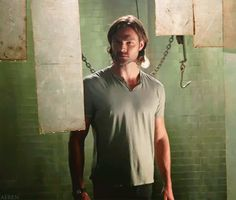 I love how Jared tries to keep a straight face<----probably my favorite gif in existence