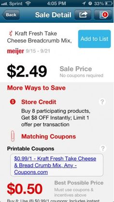 Save on groceries with your phone and this new app!
