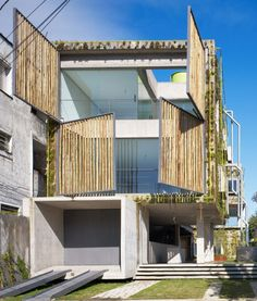 like a living body triptyque s harmonia 57 house literally breathes sweats and modifies itself. via- sustainable, design Posted to Souda's Tumblr From the Pinterest Board: Architecture - Modern Buildings, Monuments, Landmarks, & More