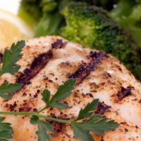 Pan fried fillets of snapper with an aromatic wine sauce. Serve with a simple salad.