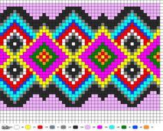 Image result for figuras geometricas para mochilas wayuu