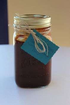 Fathers Day DIY BBQ Sauce- love the idea of canning a few homemade sauces/braising liquid/etc. and sending them home for dad! Diy Father's Day Gifts Easy, Father's Day Diy, Diy Gifts, Daddy Day, Fathers Day Crafts, Old Recipes, Homemade Gifts, Homemade Bbq, Craft Gifts