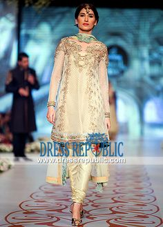 Asian Bridal wear Dresses 2014 by Asifa and Nabeel Asian Wedding Outfits (Lehenga, Sharara, Gharara etc.) Showcased in Pantene Bridal Couture Week 2014 are Available on Dressrepublic at Discounted Prices. by www.dressrepublic.com
