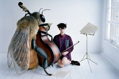 Image © Tim Walker for Vogue Japan July Clothing by Designers Uniqlo and Jun Takahashi of Undercover (more images on site linked). Tim Walker Photography, Insect Photography, Fashion Photography, Fearless Photography, Fantasy Photography, People Photography, Creative Photography, Jun Takahashi, Miss Moss
