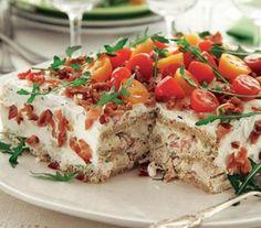 Top 10 Savoury Sandwich Cake Recipes