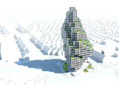 Sky Village, Copenhagen / MVRDV y ADEPT
