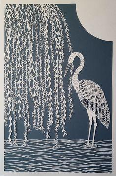 Hand-Cut Intricate Paper Artwork By Pippa Dyrlaga Kirigami, Paper Cutting, Cut Paper, Papercut Art, Pintura Exterior, Paper Artwork, Art Deco Period, Art Archive, Paper Quilling